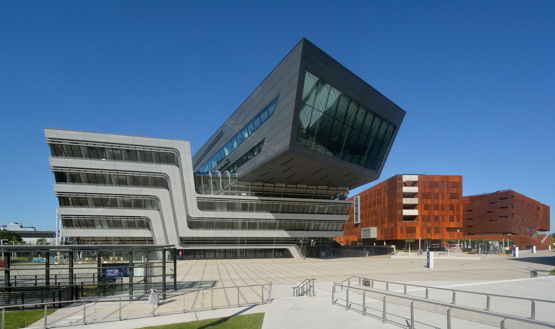 Wien Moderne Architektur Campus WU