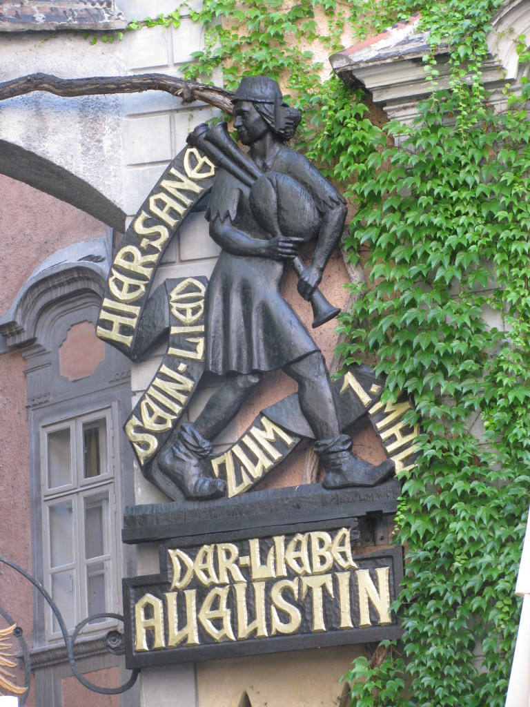 Stadtführung Wien. Lieber Augustin, Griechenbeisl. Zenit via Wikimedia Commons