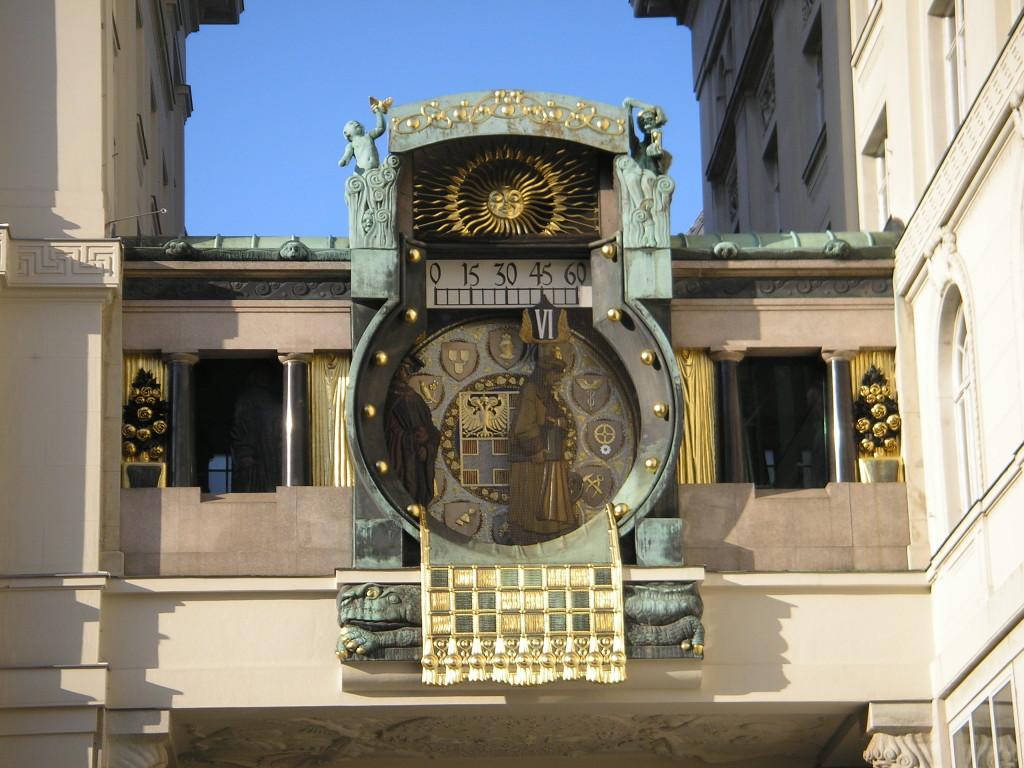 Wien Altstadt Führung Ankeruhr. By Gryffindor via Wikimedia Commons