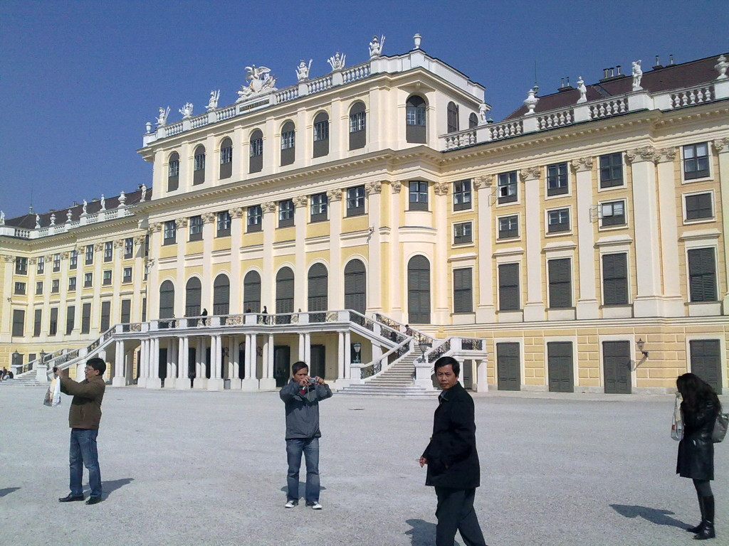 Schönbrunn Palace, summer residence of the Habsburgs in Vienna