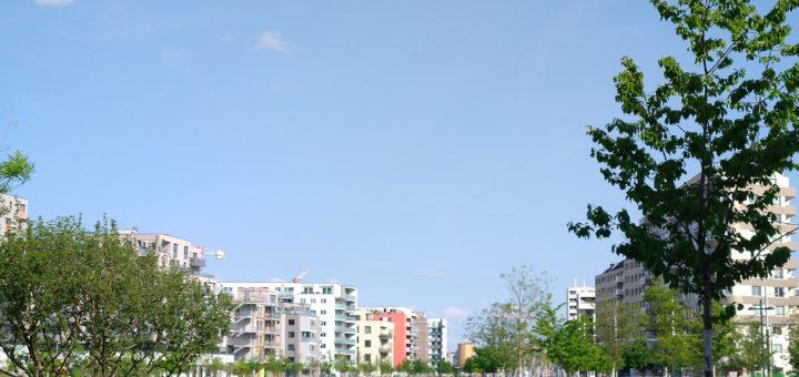 Sonnwendviertel, living around the central train station Vienna